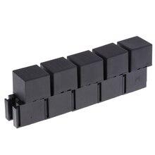 5pcs 80A 5 Pin DPDT Automotive Car Power Relay Socket Terminals Assortment