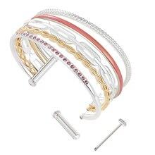 Cremo combinaison manchette bracelets & bracelet pour femmes en alliage de Zinc classique acrylique bijoux accessoires de mode Pulseira georgettes