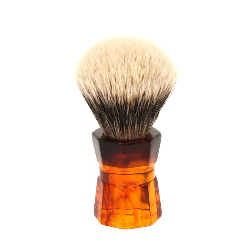 yaqi 24mm moka express synthetic hair shaving brush Yaqi 26mm Moka Express Two Band Badger Hair  Men's Beard Shaving Brush