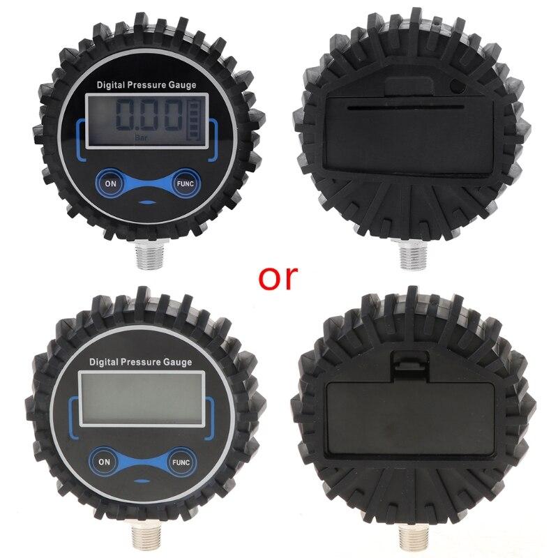 0-200PSI Digital LCD Tire Pressure Gauge Car Air PSI Meter Manometer Tyre Pressure Tester 1/8 NPT