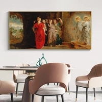 poster and print famous canvas painting the women at christ%e2%80%99s empty tomb wall art picture for living room home decor no frame