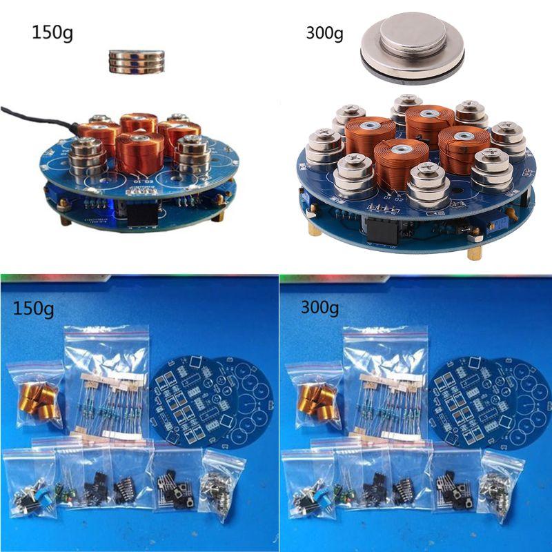 Kits de bricolaje de levitación magnética inteligente, 1 Juego, 150g/300g, productos terminados de módulo electrónico magnético de suspensión