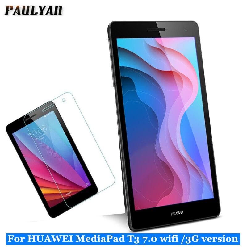 "9H 7 ""ЖК-защита для huawei Mediapad T3 7 3g BG2-U01 закаленное стекло для huawei T3 7,0 Wifi BG2-W09 Защитное стекло для экрана"
