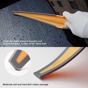 Image 4 - Длинный мягкий резиновый скребок FOSHIO, скребок из углеродного волокна для обмотки автомобильных виниловых пленок, инструмент для очистки окон и стекол, инструмент для удаления воды