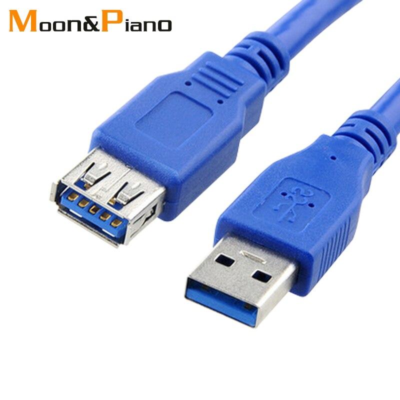 USB 3,0 cable macho a hembra de alta velocidad de sincronización de...