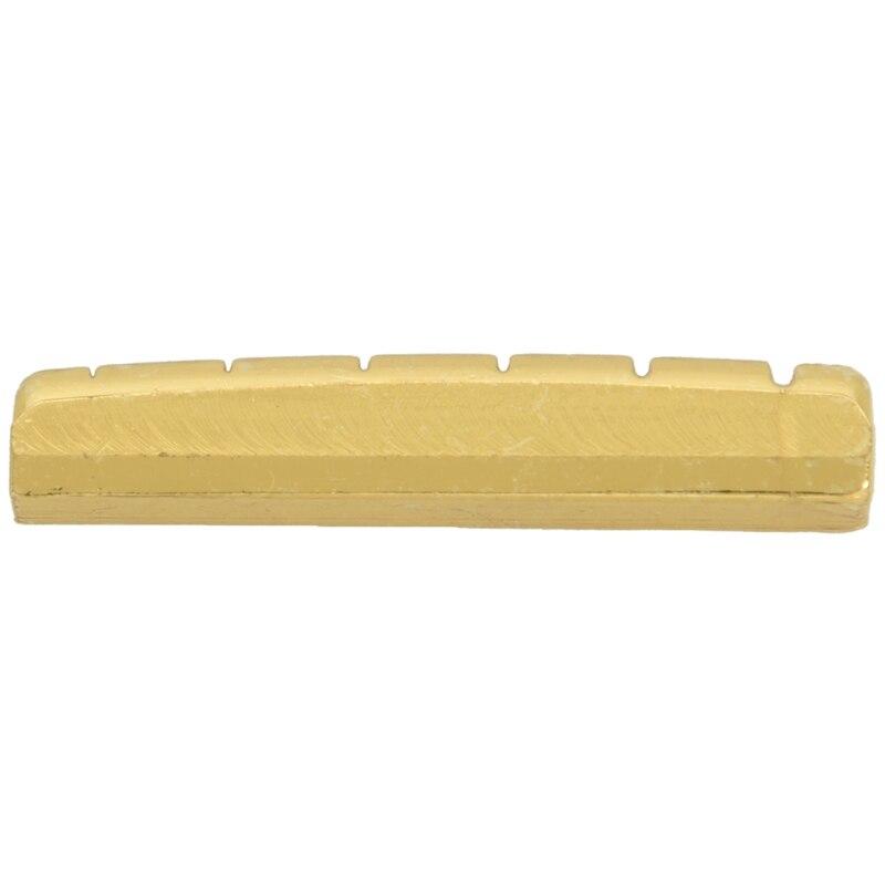 Tuerca de latón para guitarra acústica o Les Paul, dorada