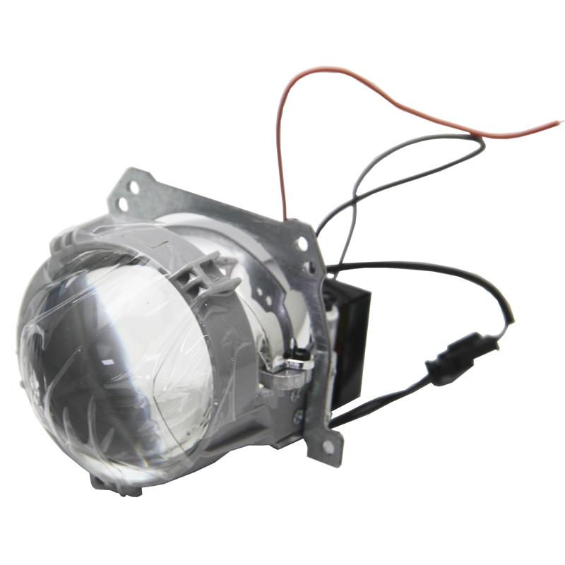 SHUOKE 2 uds LHD RHD 2,5 pulgadas Bi LED retroadaptable lente LED proyector de coche faro para bmw serie 3 f30 1, para audi a6 s5