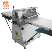 electric reversible pastry dough sheeter roller croissant bread dough sheeting machine for cookies bakery