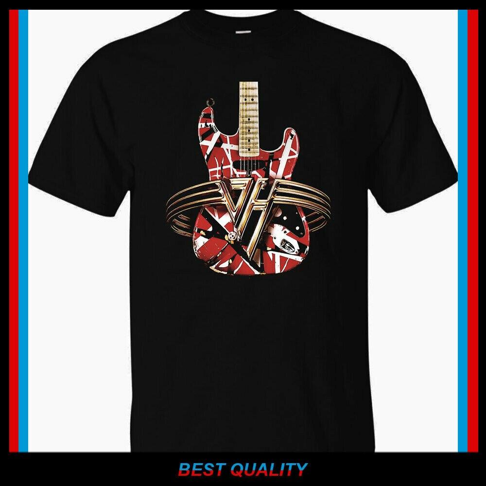 Nueva camiseta de concierto de guitarra Van Halen, camiseta para hombre, camiseta S 2Xl