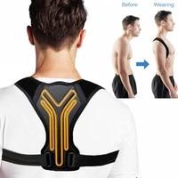 back posture corrector corset clavicle spine posture correction back support belt comfortable soft strip corrector for adult