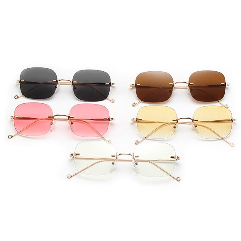 1 Pcs Anti Blue Light Oval Eyeglasses Metal Frame Women&men Computer Eye Protection Eyewear Optical
