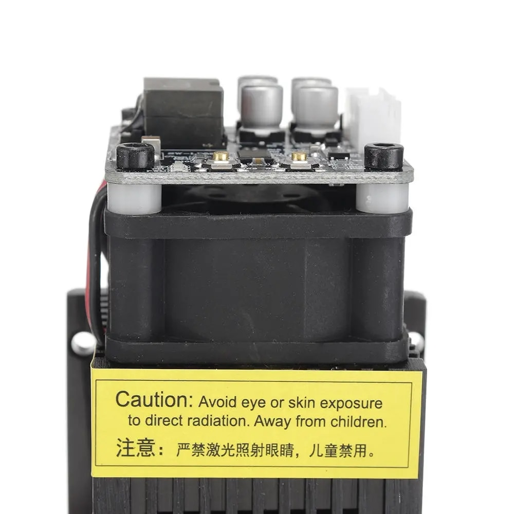 T05-5500 5500mW 445nm Blue Laser Module TTL&PWM Modulation 2.54-3P+2.54-2P for EleksMaker DIY Laser Engraver enlarge