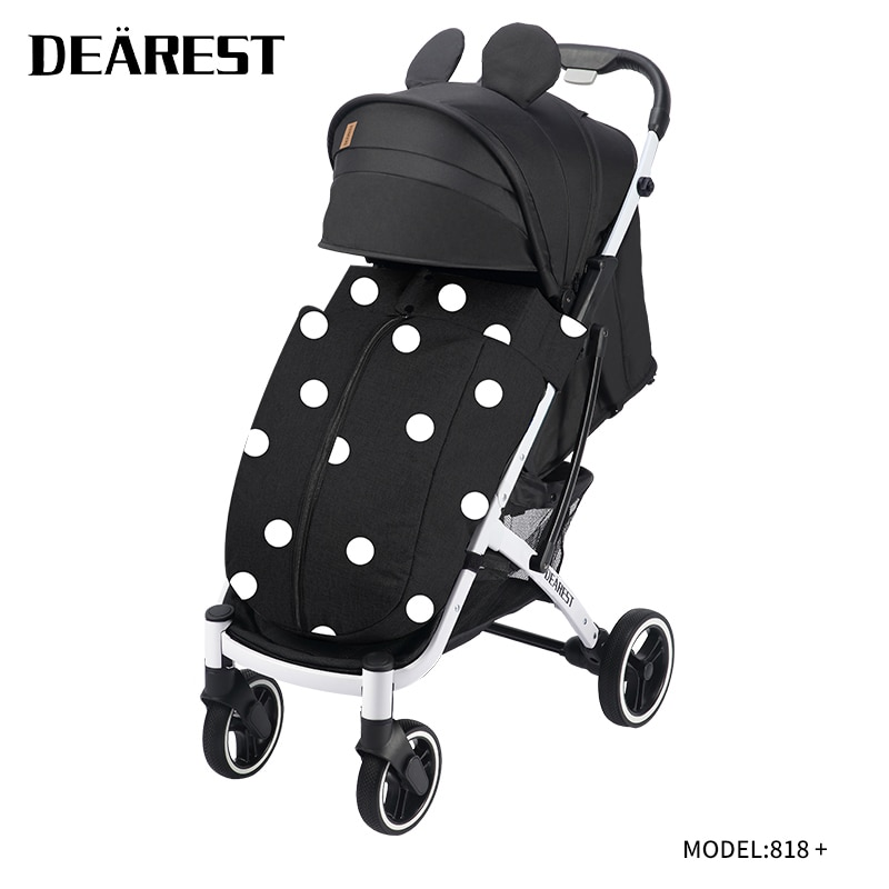 Dearest818 plus 2021 New Baby Stroller Free Stroller Baby Stroller Travel Trolley