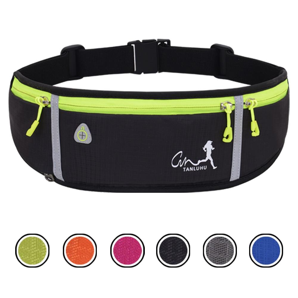 Waterproof Running Waist Packs Running Bag Belt Phone Container Jogging Hiking Belt Gym Fitness Bag Running Accessories SB0032
