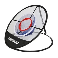 foldable golf practice net 3 layer chipping hitting pitching training aids cages indoor outdoor chipping pitching cages mats