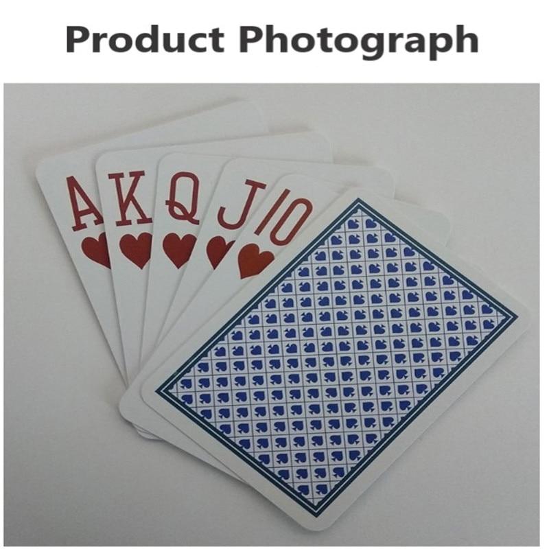 بطاقة لعب بلاستيكية ذكية مع شريحة RF ، لوح سحري RFID ، بوكر HF 13.56MHz