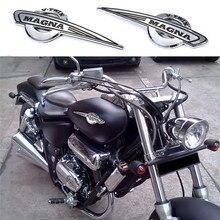 2 unids/set motocicleta tanque de Gas emblema pegatina Calcomanía para Honda Magna VF500 VF700 VF750 impermeable