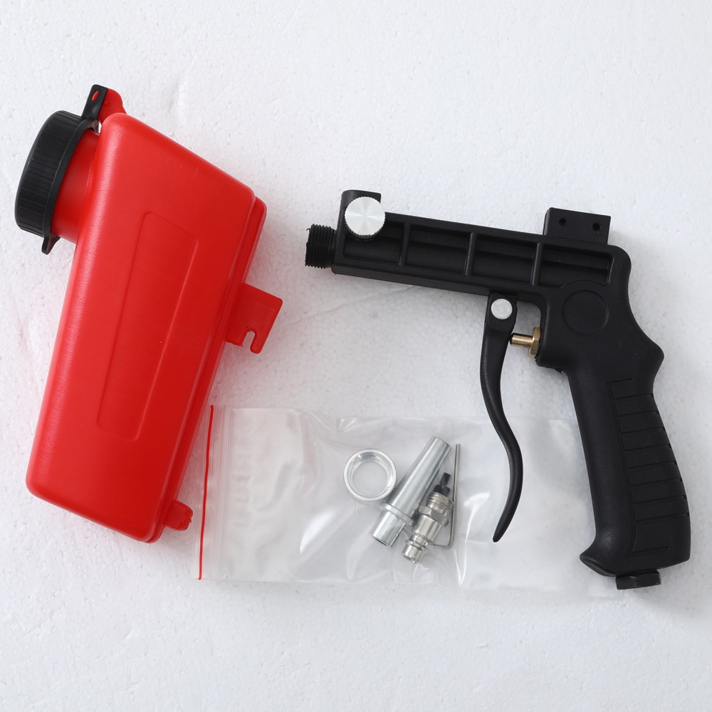 Pistola de chorro de arena por gravedad portátil de 90 psi - Herramientas eléctricas - foto 6