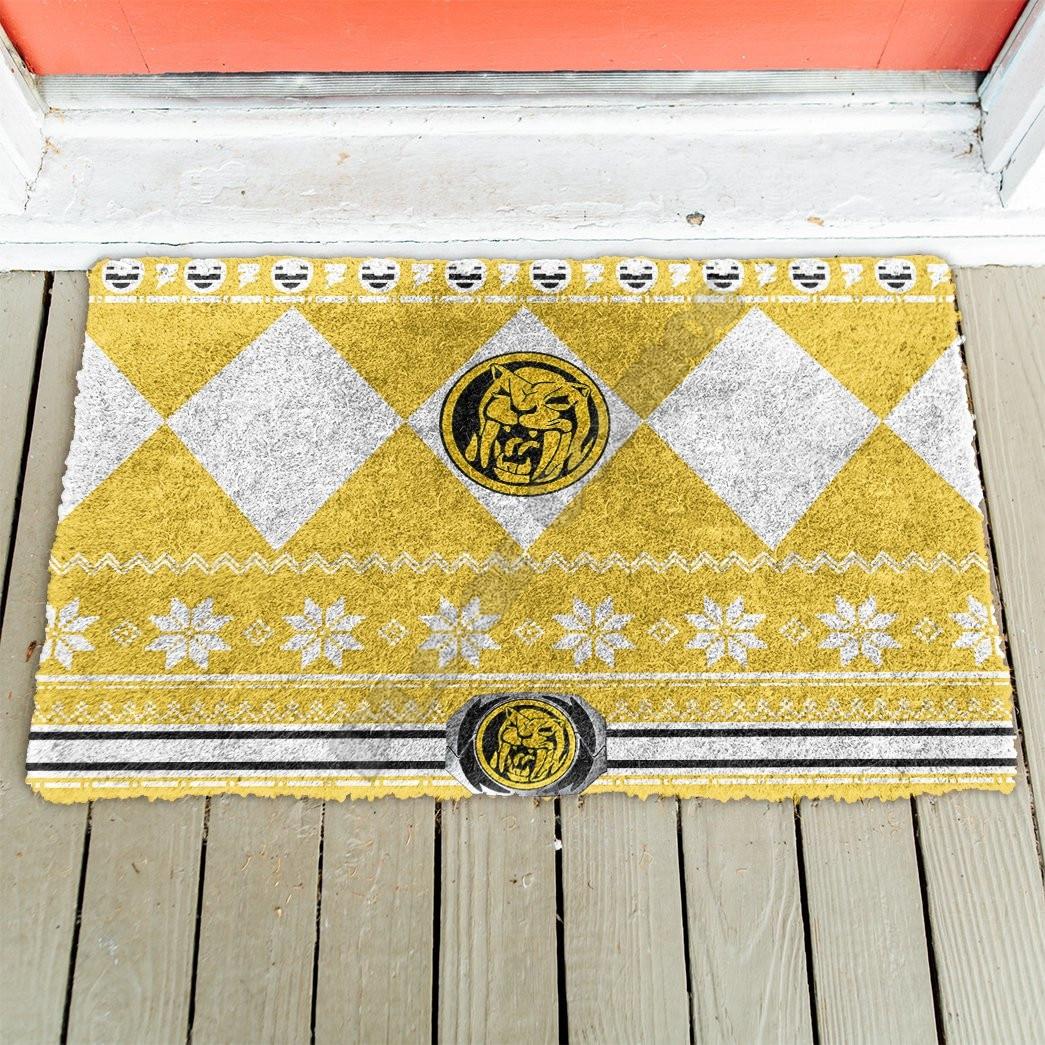 Желтый дверной коврик с 3D рисунком динозавра, Внутренний дверной коврик, Нескользящие дверные напольные коврики, декоративный коврик для к...