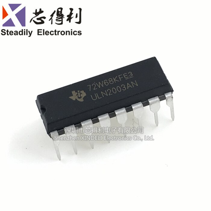 10 Stks/partij Originele Uln200an Darnington Transistor Array 7PN Dip-16