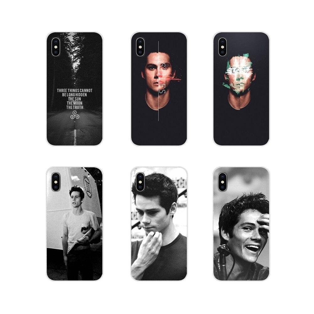 Carcasa de teléfono móvil con Lobo adolescente, Stiles, Dylan OBrien, para Samsung A10, A30, A40, A50, A60, A70, M30, Galaxy Note 2, 3, 4, 5, 8, 9 y 10 PLUS