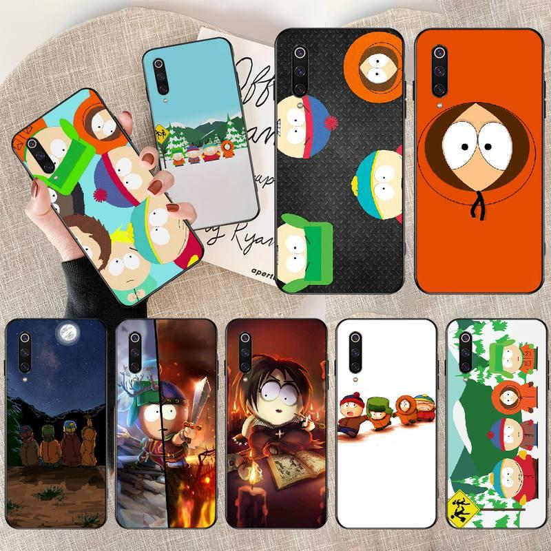 NBDRUICAI Anime Southpark lujo diseño único teléfono cubierta para Redmi Nota 8 8A 7 6 6A 5 5A 4 4X 4A Go Pro Plus Prime
