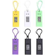 6Pcs Watches Examination Small Hanging Watches for Students (Random Color)