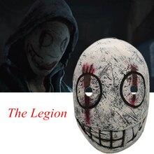 Jogo morto pela luz do dia a legião máscara de horror periférico halloween masquerade festa cosplay adereços acessórios máscara de látex natural