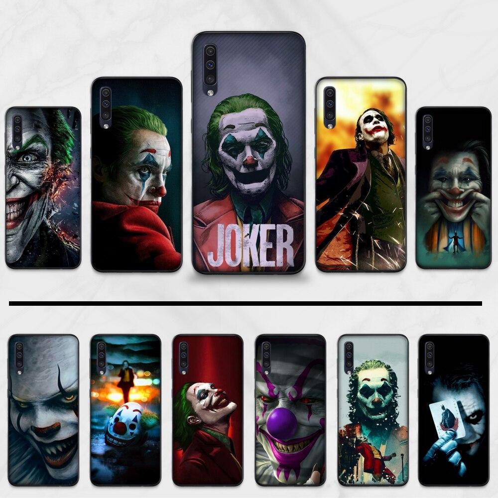 Marvel mafex joker recién llegado teléfono celular negro Funda para Samsung Galaxy A 3 6 7 8 10 20 30 40 50 70 71 10S 20S 30S 50S PLUS