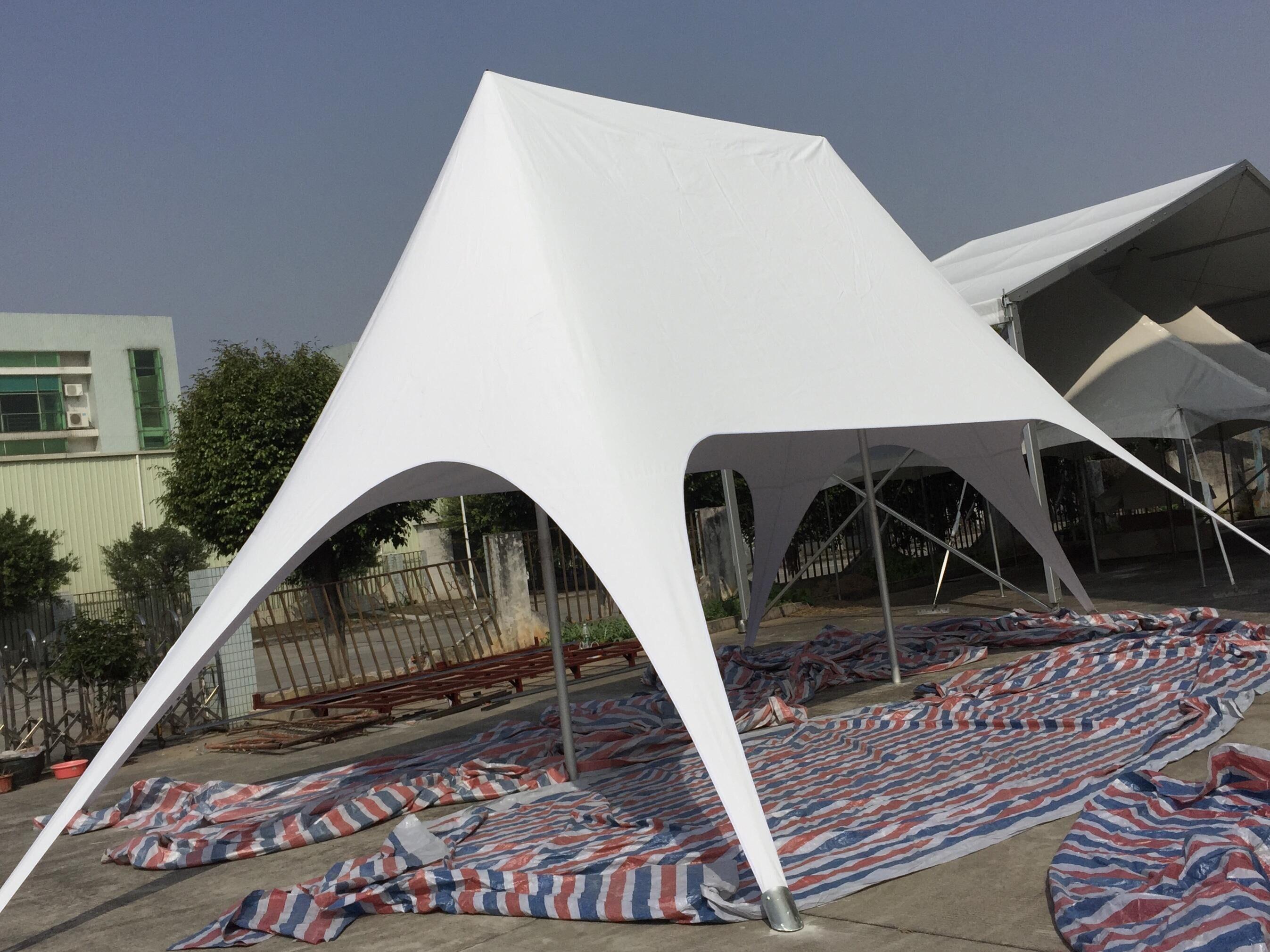 10m x 14m Camiseta Grande Star Tent PVC doble evento al aire libre feria publicidad fiesta promoción sombra carpas de descanso Marquee