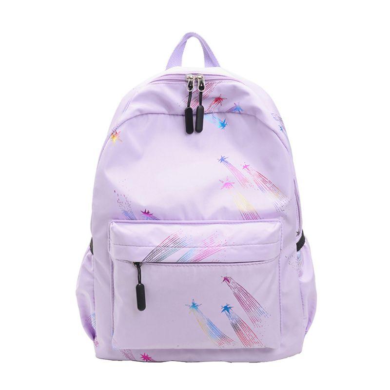 WoMan Nylon Backpack Casual Rucksack for Teenage Girls School Bookbag Laptop Daypack