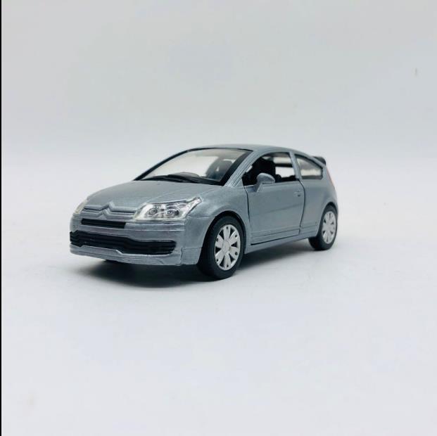 Oferta 132, coche en miniatura de aleación Citroen C4 Coupe, decoración clásica para coche de 2 puertas, coche de juguete para niños, envío gratis