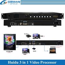Huidu-procesador de vídeo 3 en 1, tarjeta de envío y Reproducción USB