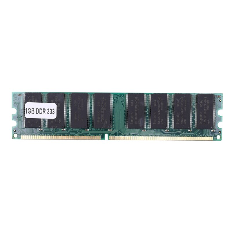 1Gb Ddr 400 400Mhz Pc3200 184Pin no-Ecc Dimm sobremesa memoria Ram para...