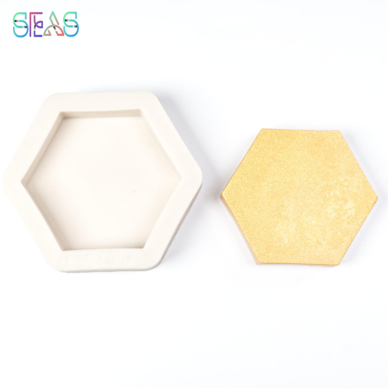 Силиконовые формы для шоколада, форма в виде шестигранной свечи из смолы, кондитерские инструменты, аксессуары, кухонные инструменты, аксес...