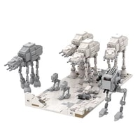 moc 65500 22995 space series robot wars battle building blocks high tech home decoration diy educational toys for children gift