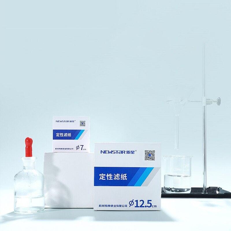 100 шт./упак. быстрая/Средняя/медленная скорость, качественная фильтровальная бумага для тестирования автомобильного масла, используйте диа...