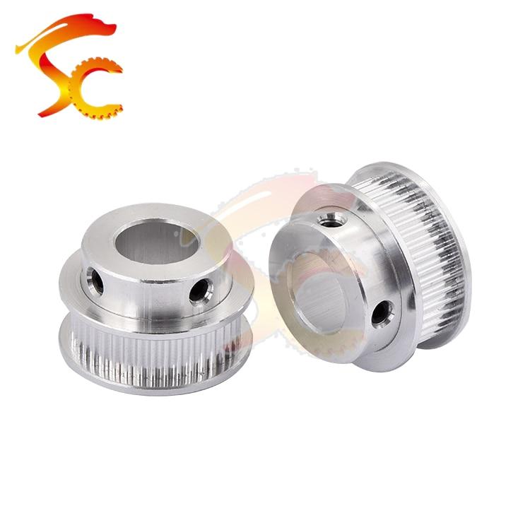 1pcs/lot Alumium GT2 40teeth Timing Pulley Bore 12mm for 6mm Width GT2 Belt 2GT pulley (40 Teeth)