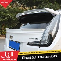 For Cadillac XT4 Spoiler 2014-2019 For Cadillac XT4 TF Spoiler ABS Material Car Rear Wing Primer Color Rear Spoiler
