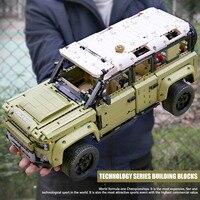 Крутейший Land Rover из лего на более чем 2500 тысячи деталей, собирается своими руками #1