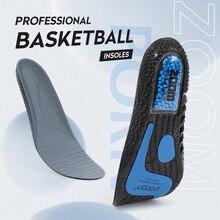 BANGNI PORON cuscino d'aria soletta PU Memory Foam sport supporto inserti ZOOM Popcorn scarpe ortopediche Pad per piedi uomo donna