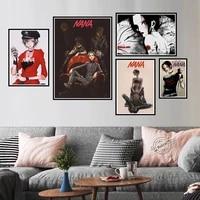 Nana     toile de peinture artistique  images murales  impressions HD  role anime  sans cadre  pour decoration de salon et de maison