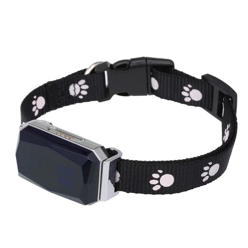 Умный GPS-трекер-мини-ошейник для домашних животных IP67 (для собак и кошек), GPS LBS позиционирование Geofence SOS в режиме реального времени-An