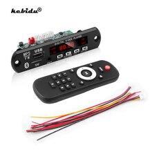 Kebidu lecteur MP3 décodeur voiture Module Radio FM Bluetooth 5.0 récepteur mains libres 2 en 1 Audio MP5 HD décodeur vidéo