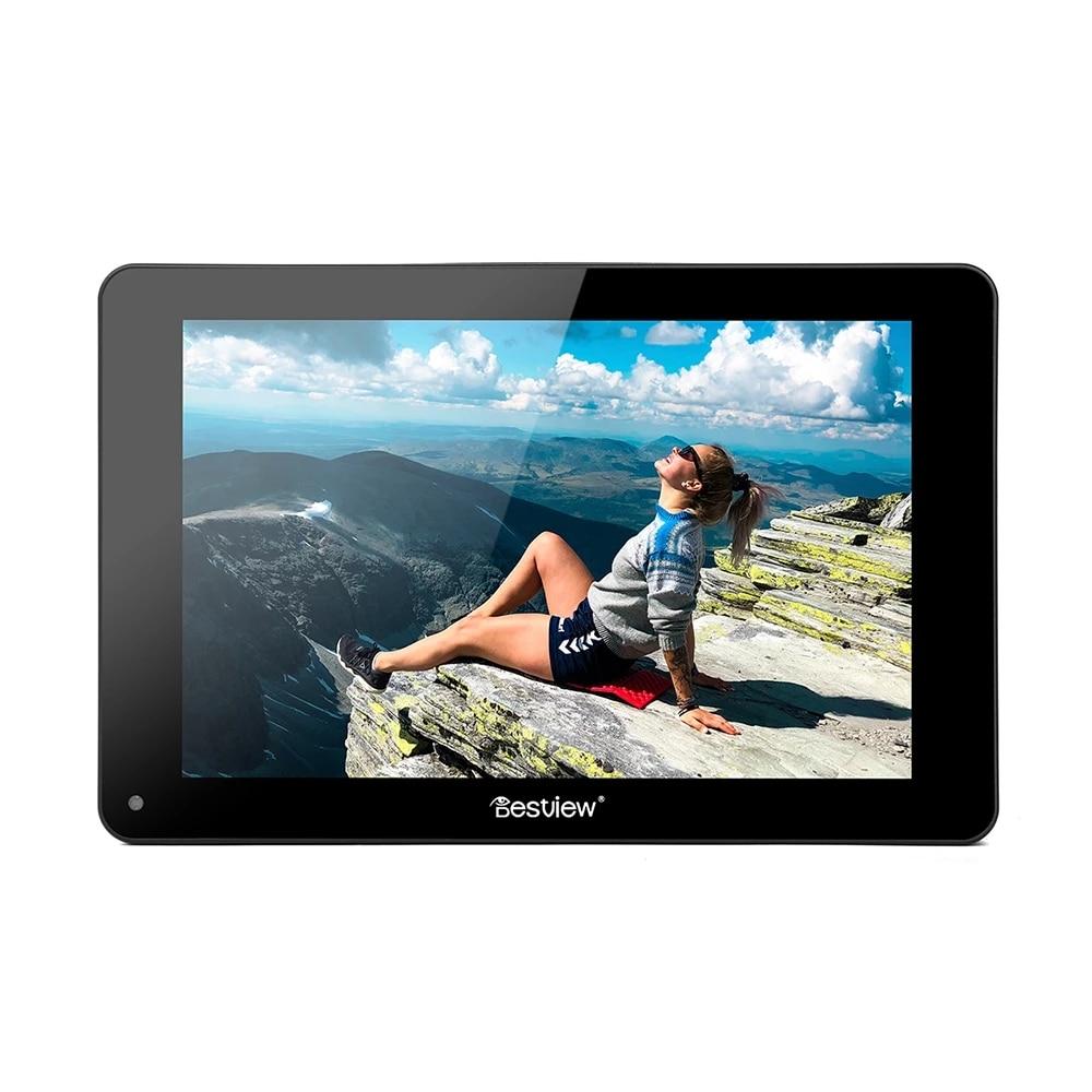 Bestview R7S 7 بوصة شاشة تعمل باللمس مراقب 4K واجهة SDI كامل HD 1920x1200 شاشة كاميرا الحقل كامل الموجي للفيديو الحي