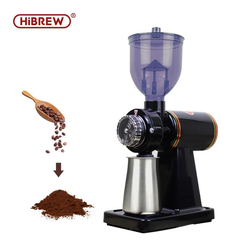 HiBRWE household electric coffee grinder mill espresso bean crush maker