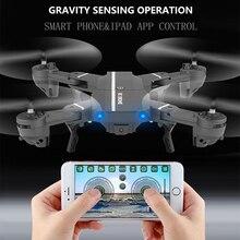 8807W WIFI FFV RC Drone pliable Quad copter télécommande Selfie Drones avec 720P HD 2.0MP caméra Dron jouets VS visuo xs809hw