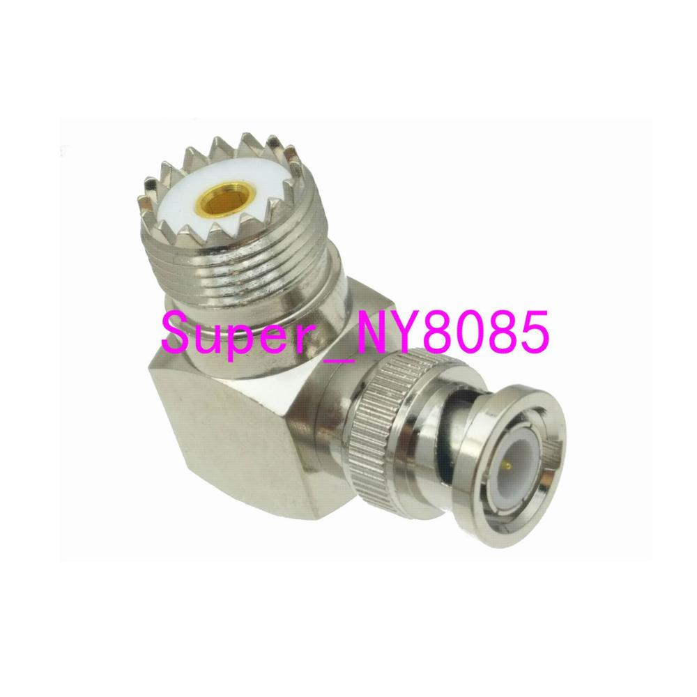 1pce UHF SO-239 SO239 гнездо BNC штекер правый угол RF разъем адаптера