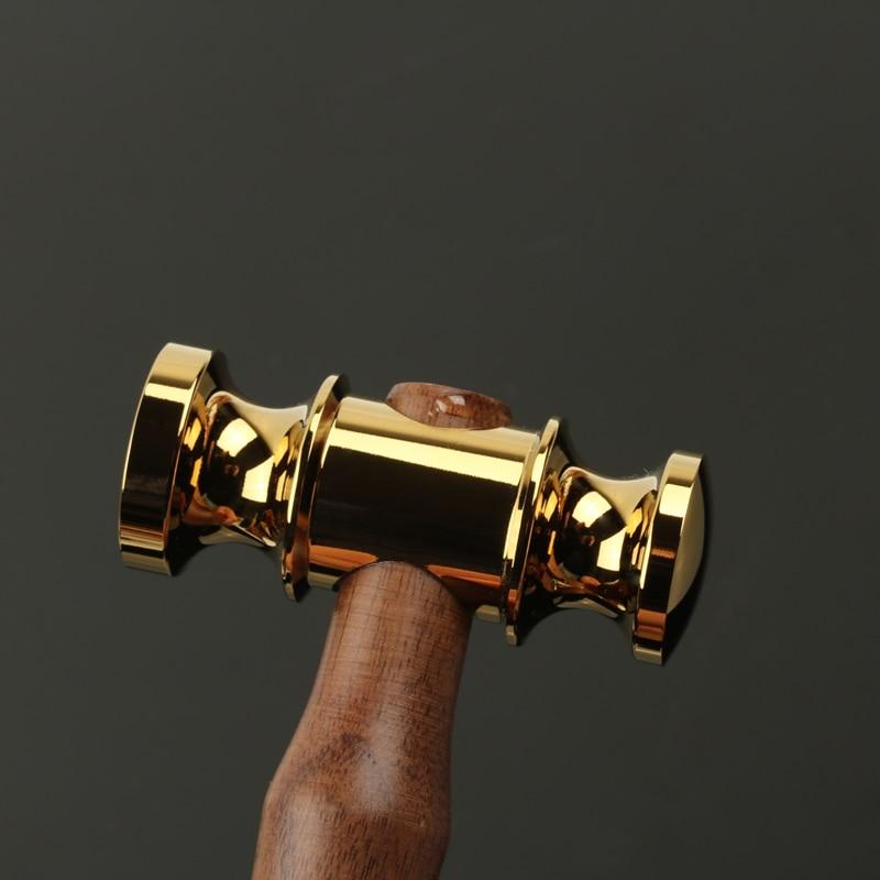 Handmade mini hammer with wood handle Leather Craft Tool Judge harmmer Hand Tools