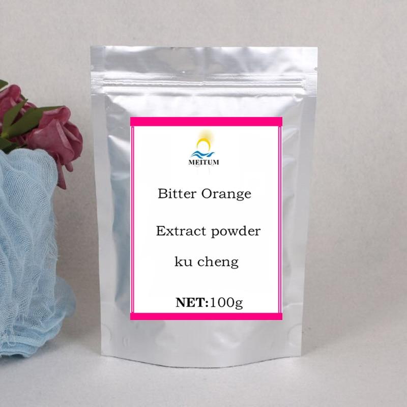 Polvo de extracto de naranja amarga pura orgánica Natural de alta calidad, bajo nivel de potasio, ayuda a la quema de calorías, Envío Gratis
